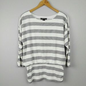 White House Black Market | Striped Sweater Top